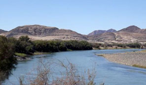 The Orange River, southern Namibia